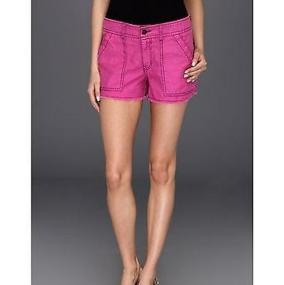 Free People Pants - Free People Wild Violet Cut Off Shorts Size 6